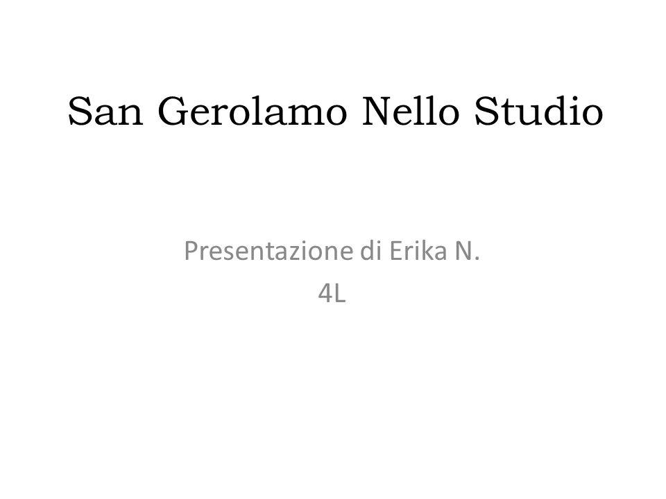 San Gerolamo Nello Studio