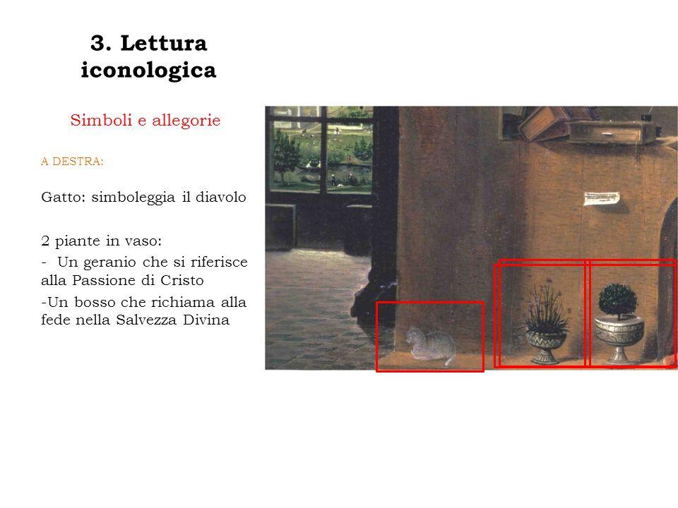 3. Lettura iconologica Simboli e allegorie