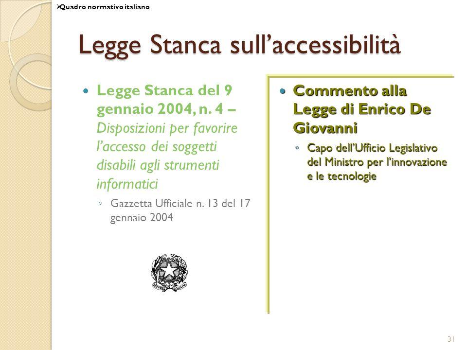 Legge Stanca sull'accessibilità