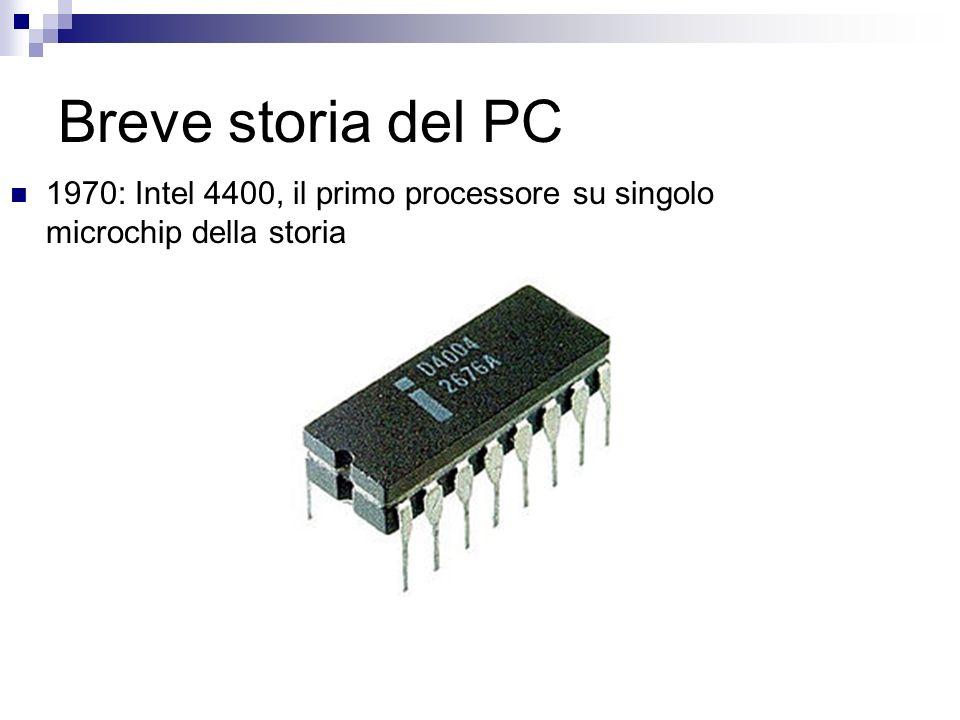 Breve storia del PC 1970: Intel 4400, il primo processore su singolo microchip della storia