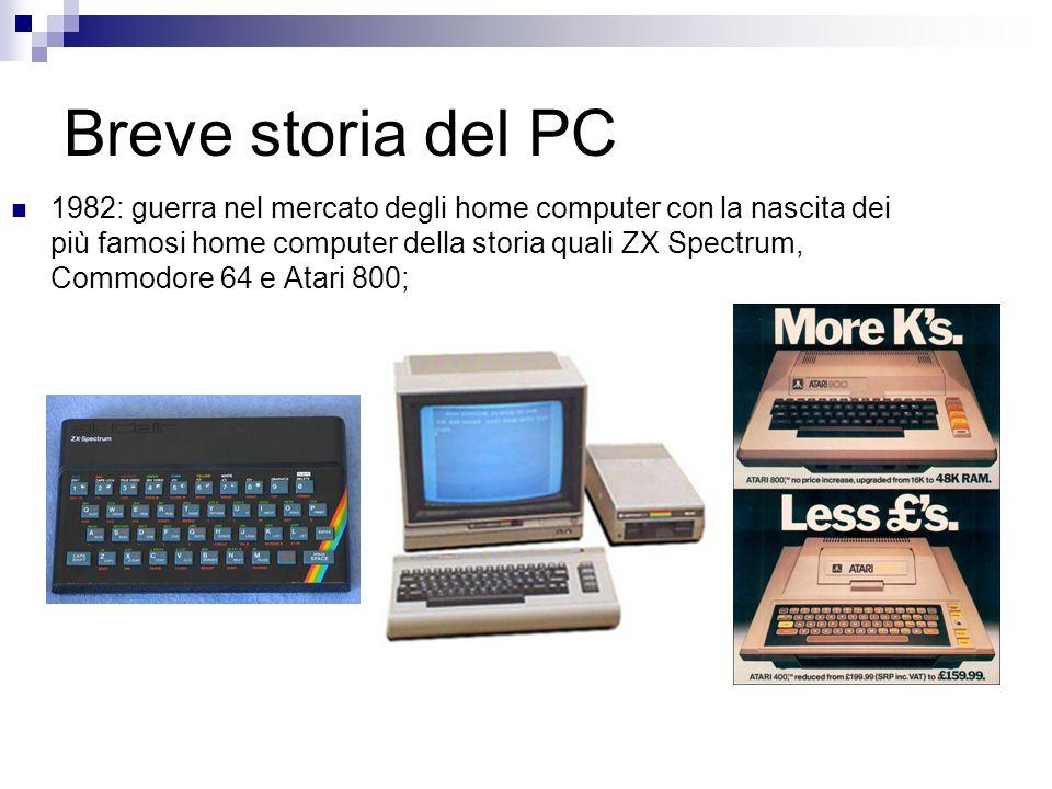 Breve storia del PC