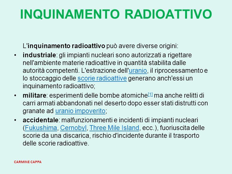 INQUINAMENTO RADIOATTIVO