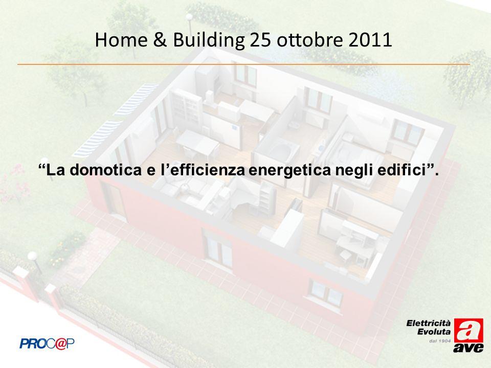 Home & Building 25 ottobre 2011