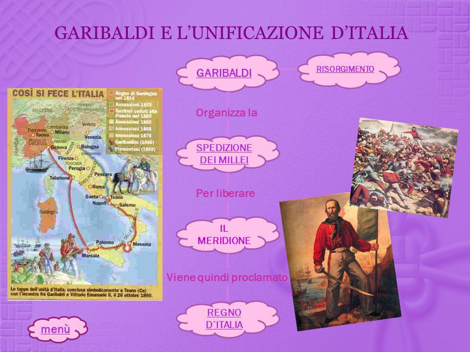 GARIBALDI E L'UNIFICAZIONE D'ITALIA