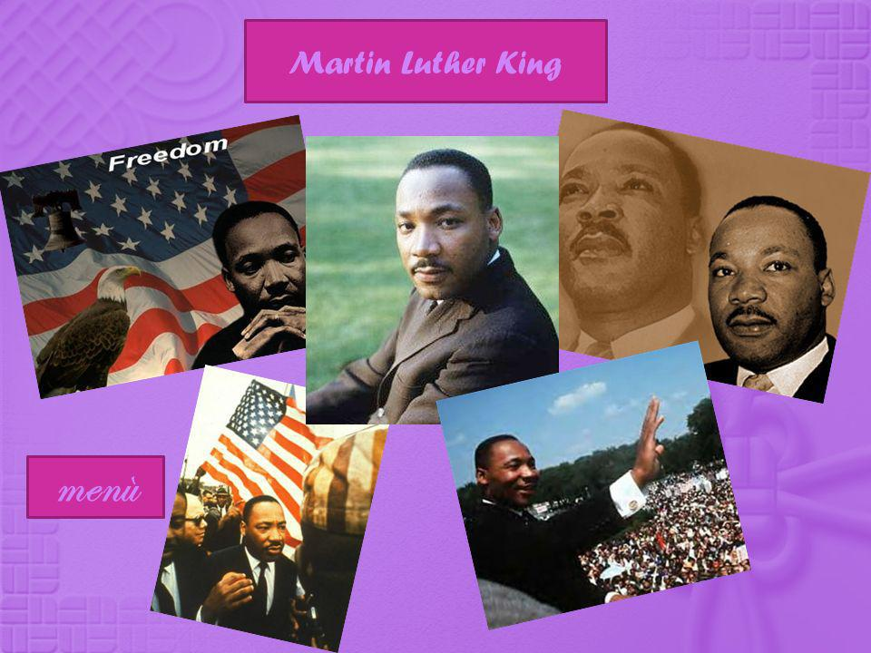 Martin Luther King menù