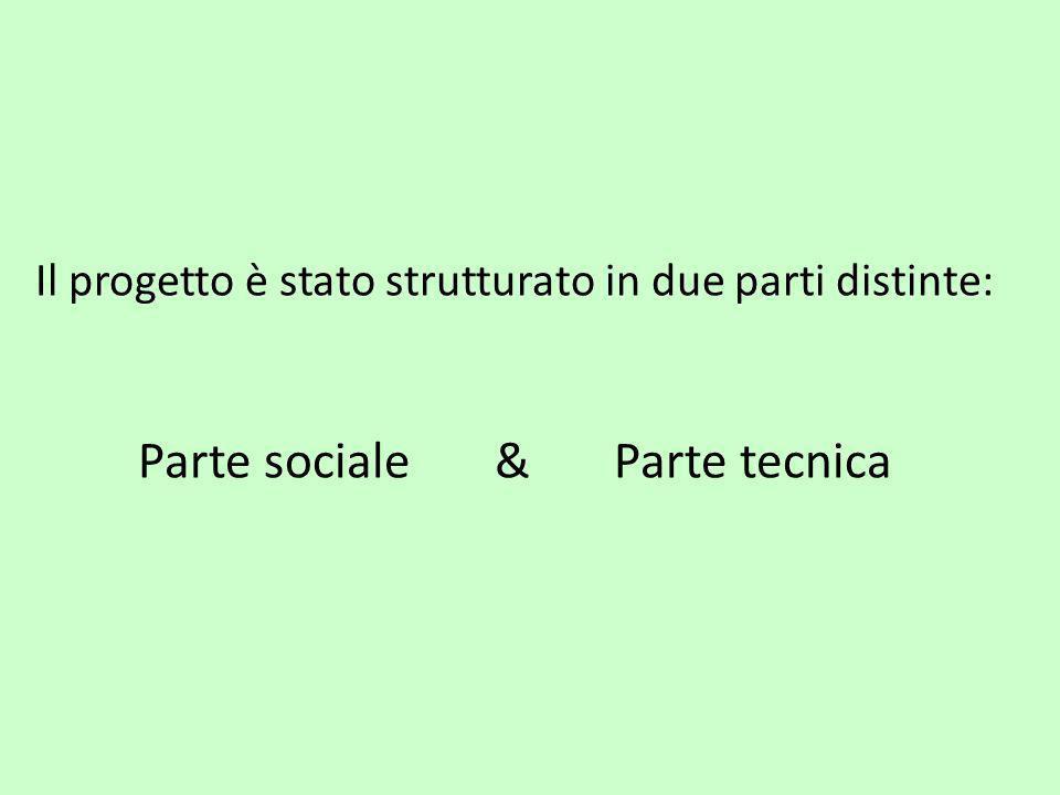 Parte sociale & Parte tecnica