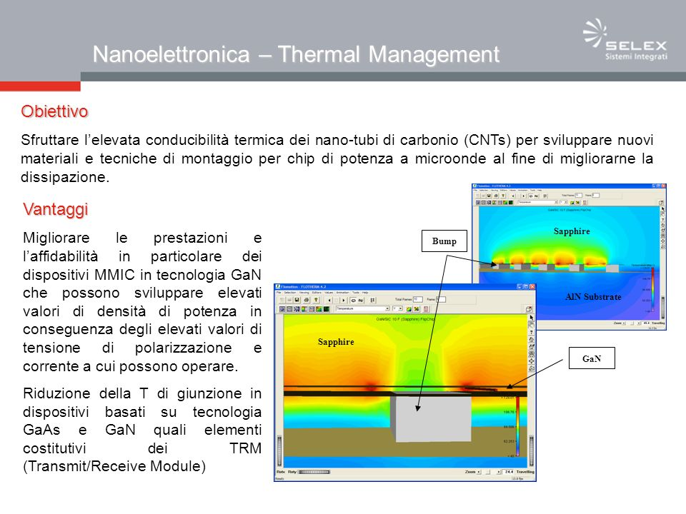 Nanoelettronica – Thermal Management