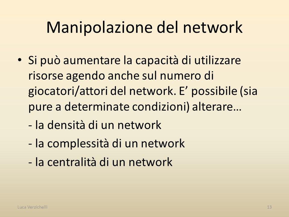 Manipolazione del network
