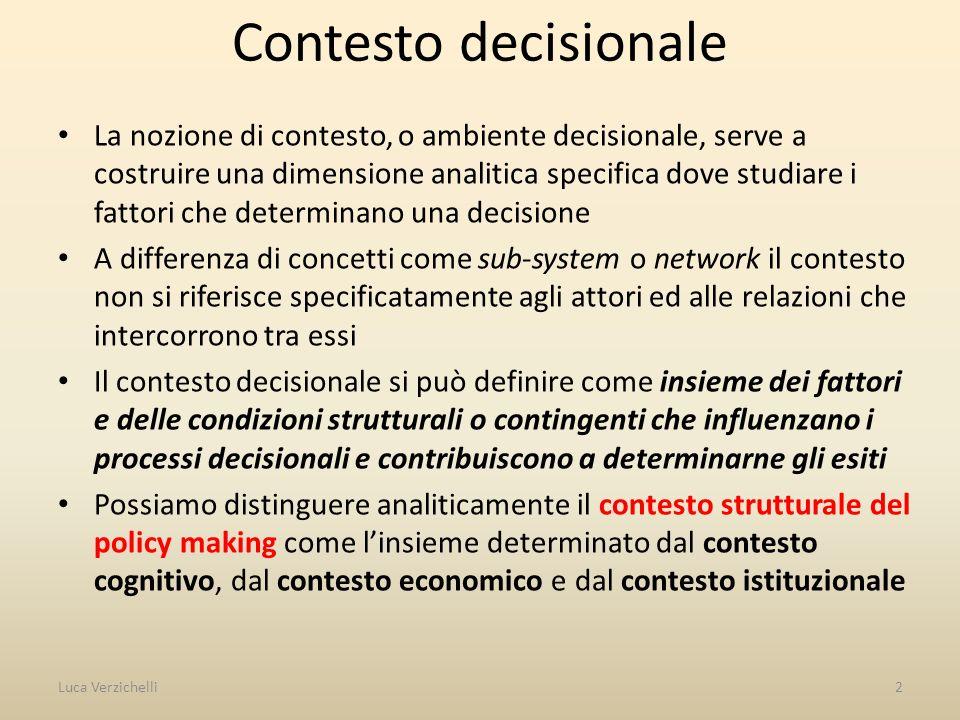 Contesto decisionale