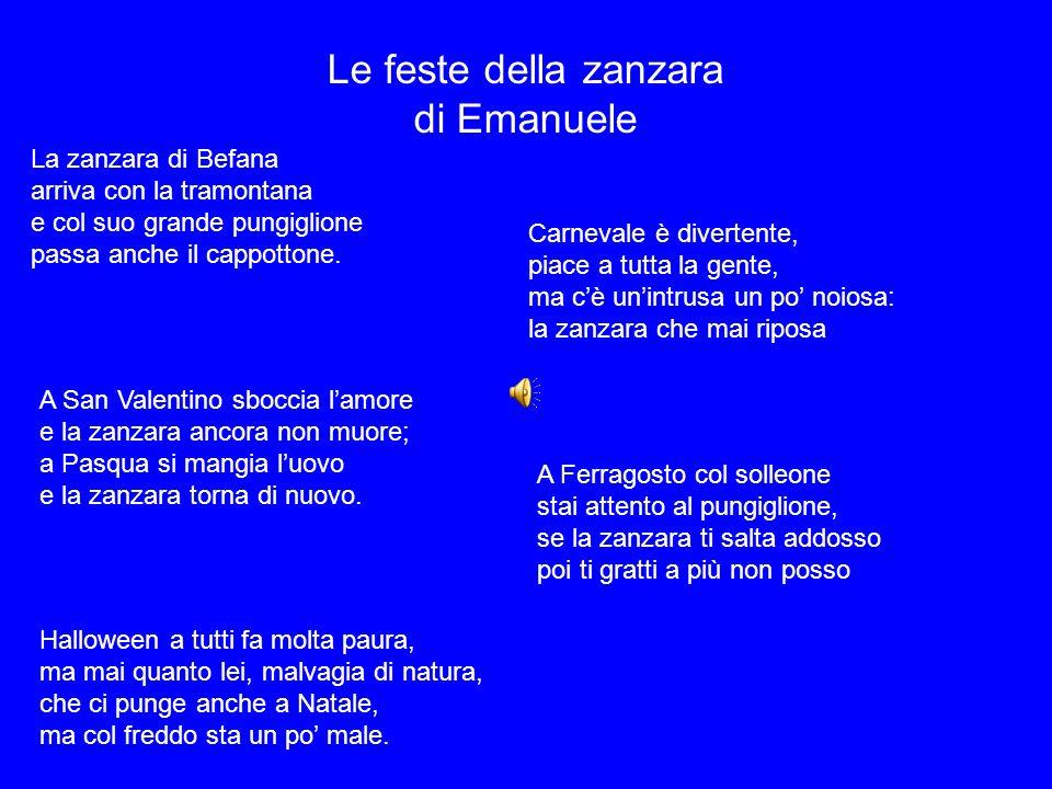 Le feste della zanzara di Emanuele