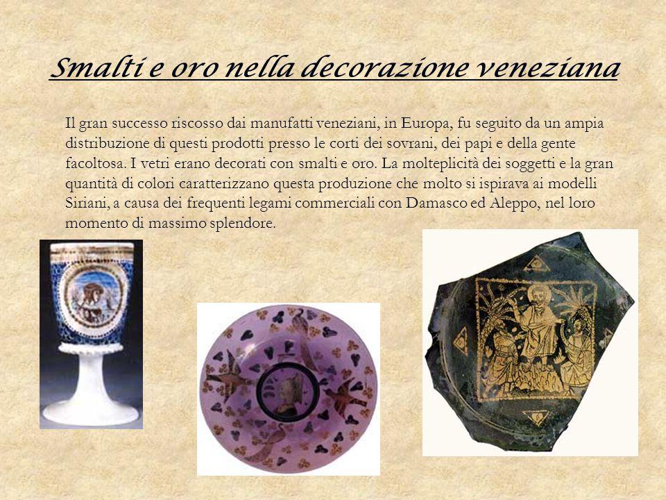 Smalti e oro nella decorazione veneziana