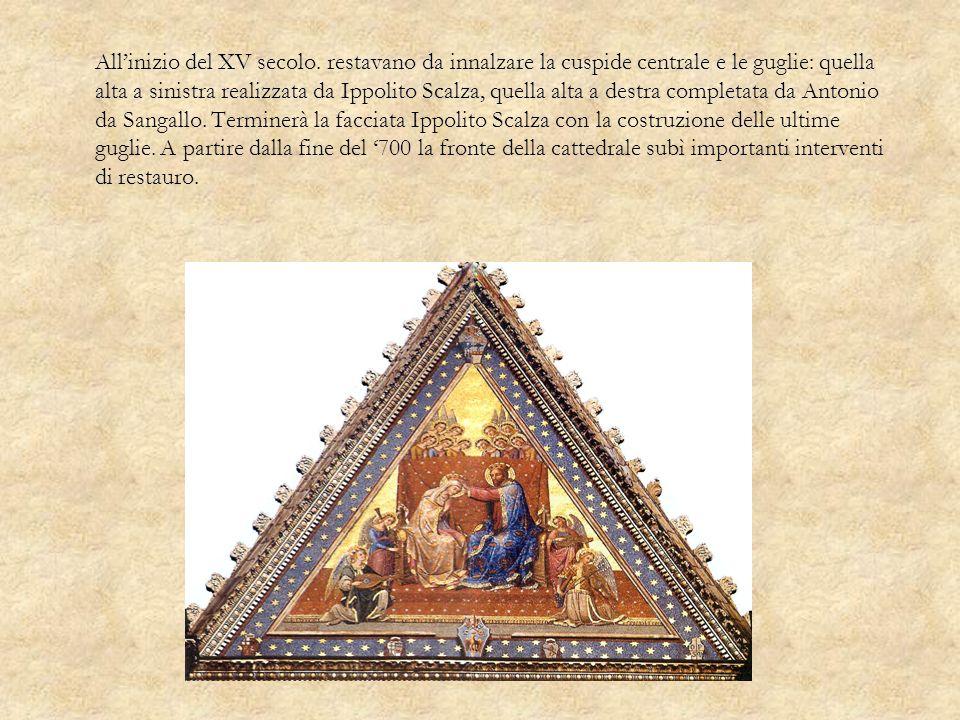 All'inizio del XV secolo