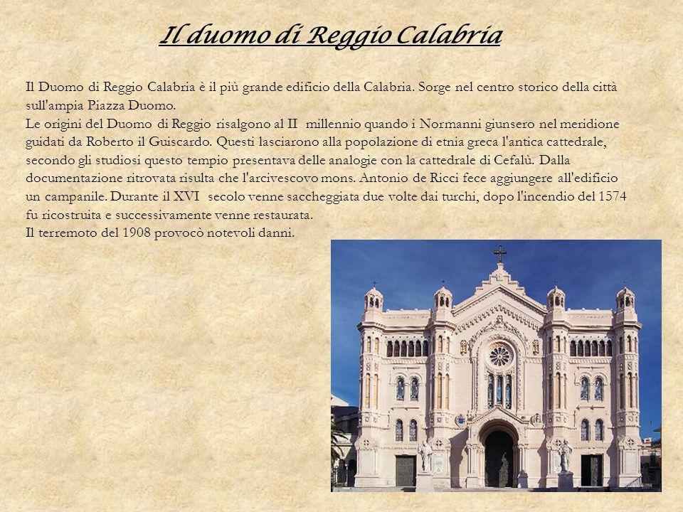 Il duomo di Reggio Calabria