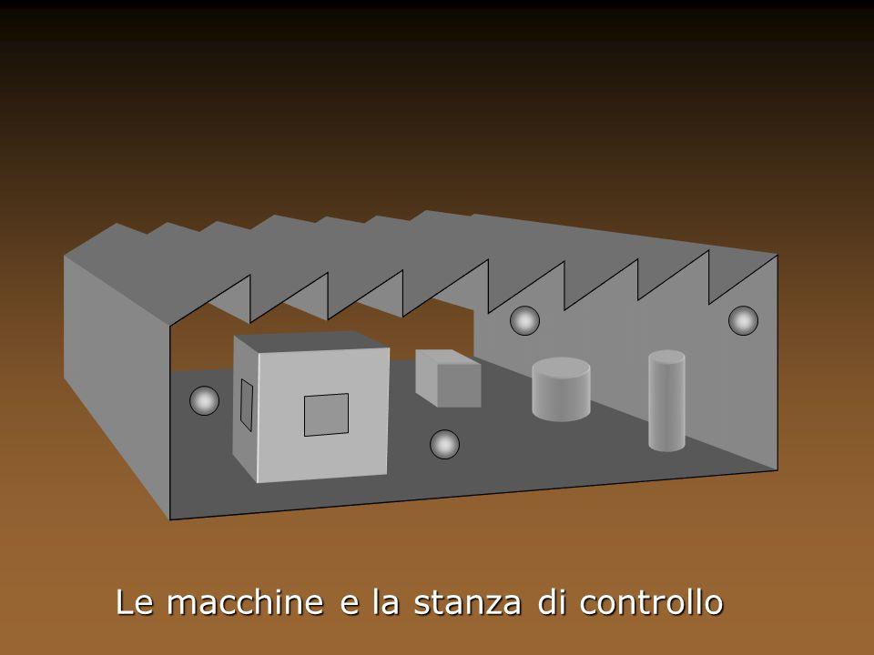 Le macchine e la stanza di controllo