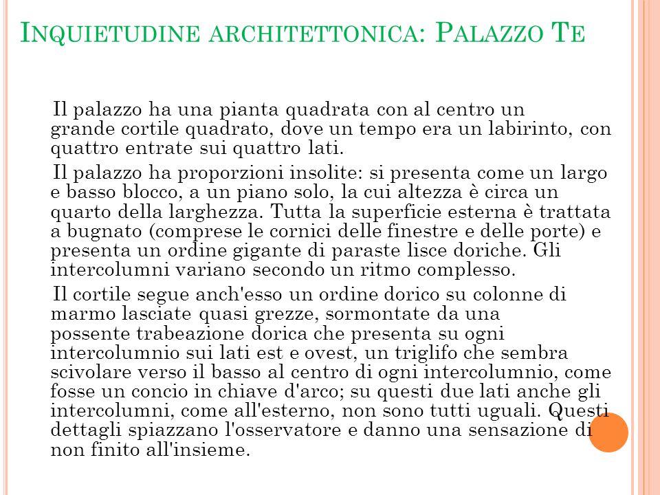 Inquietudine architettonica: Palazzo Te