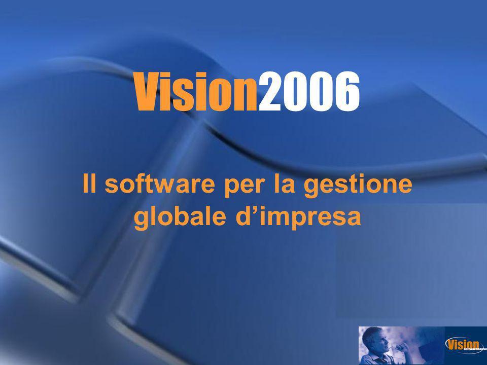 Vision2006 Il software per la gestione globale d'impresa