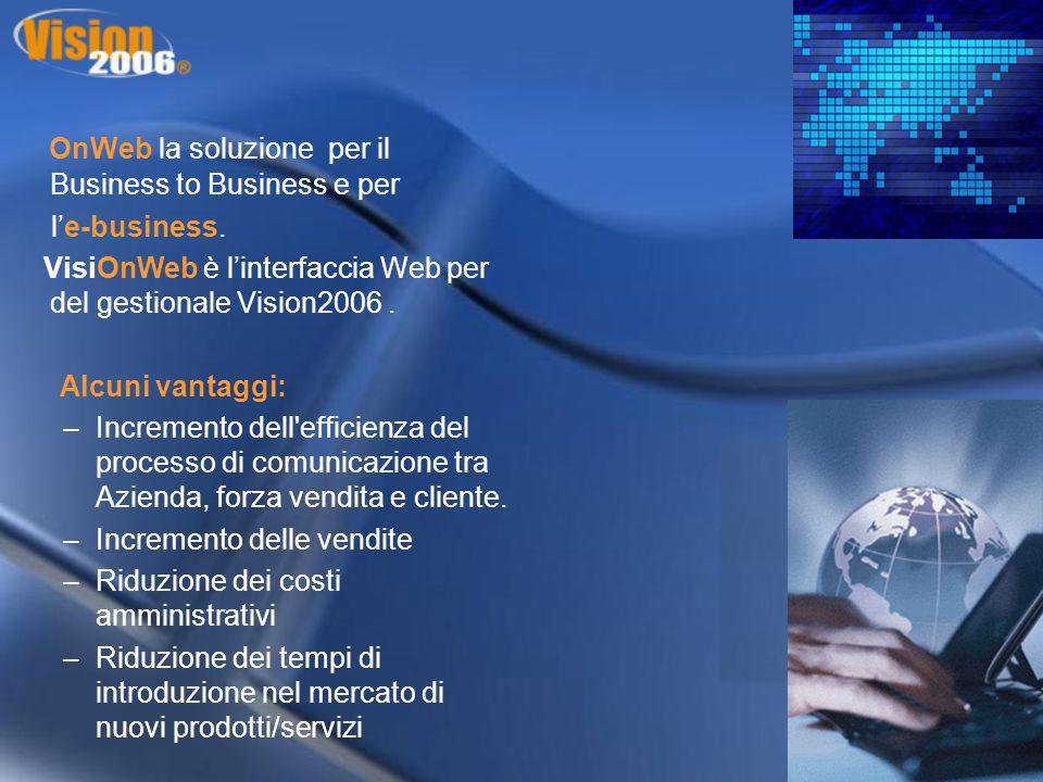 OnWeb la soluzione per il Business to Business e per