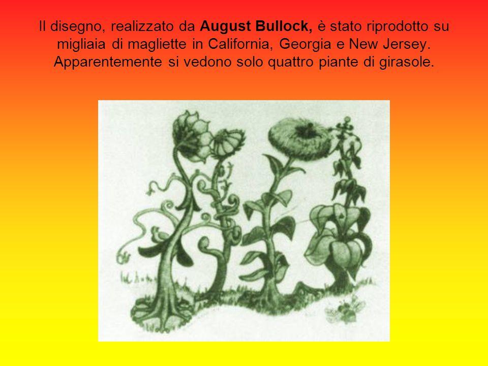 Il disegno, realizzato da August Bullock, è stato riprodotto su migliaia di magliette in California, Georgia e New Jersey.