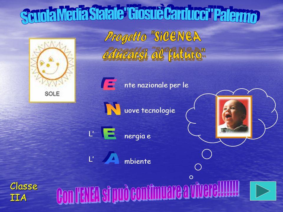 ENEA Progetto SiCENEA educarsi al futuro Classe IIA
