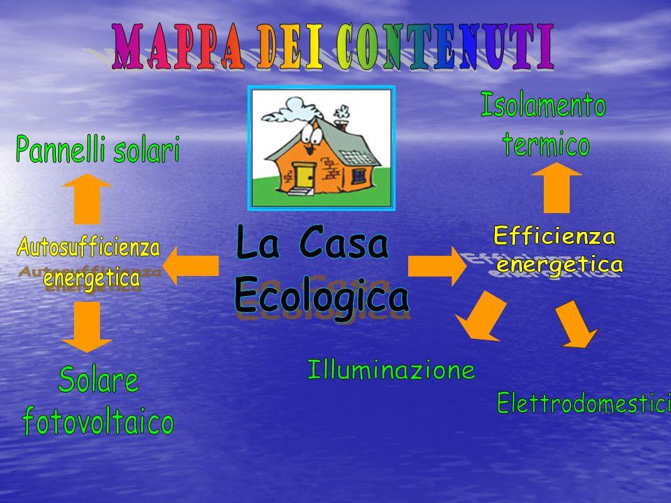 Mappa dei contenuti La Casa Ecologica Isolamento termico
