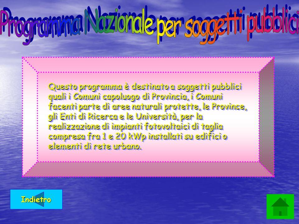 Programma Nazionale per soggetti pubblici