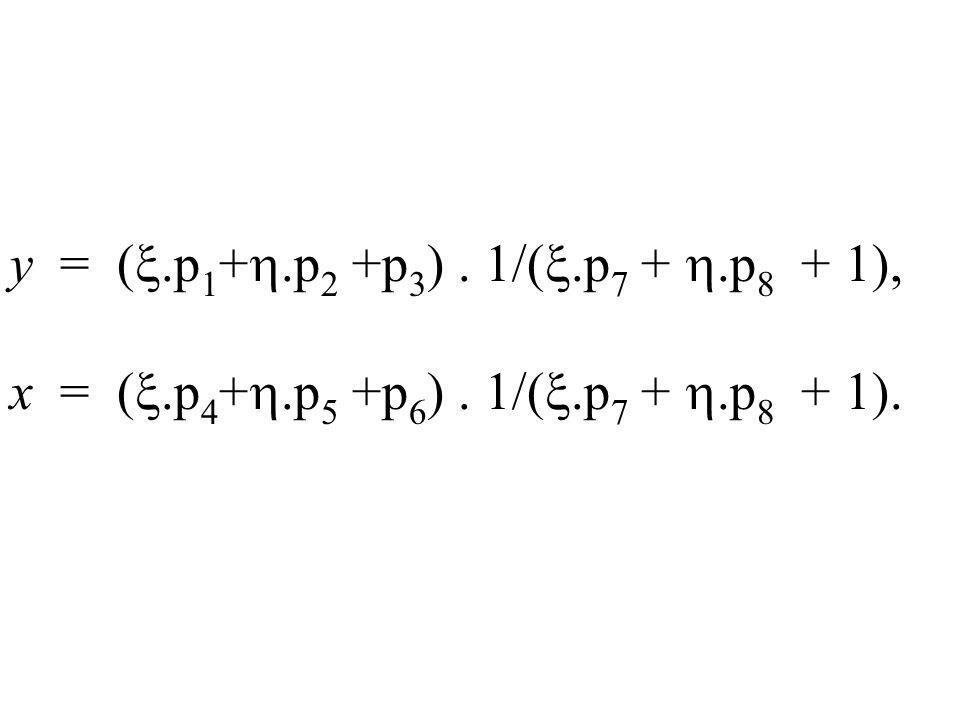 y = (.p1+.p2 +p3) . 1/(.p7 + .p8 + 1),