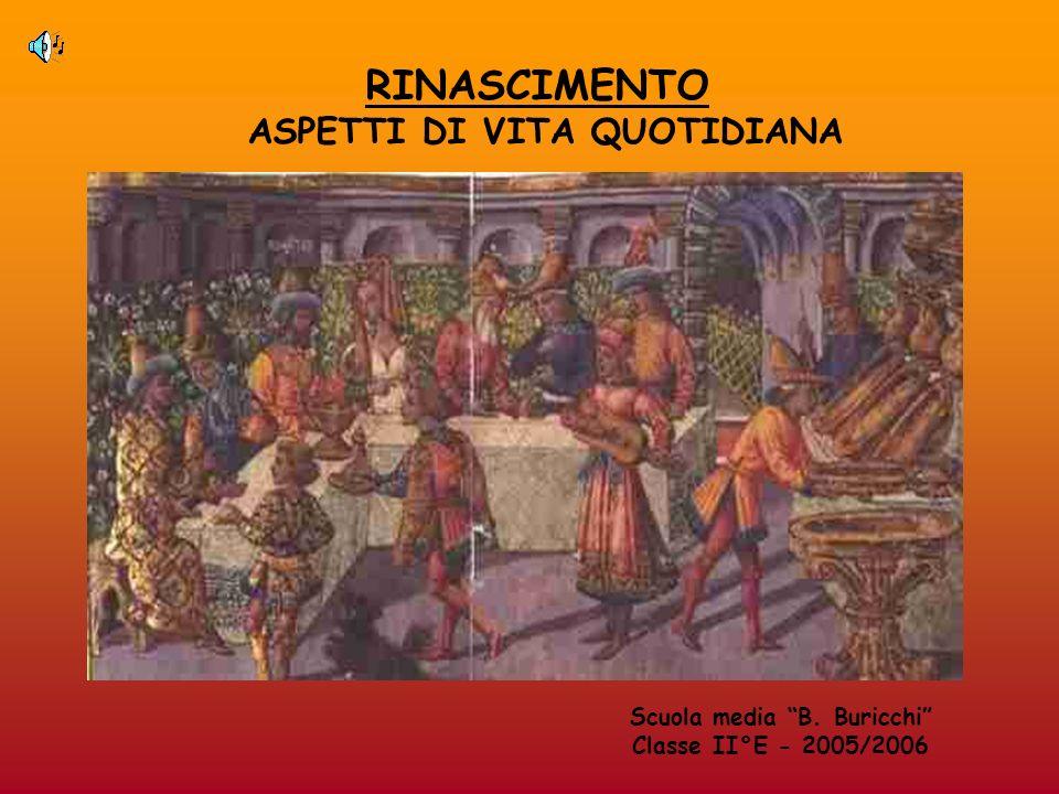 ASPETTI DI VITA QUOTIDIANA Scuola media B. Buricchi