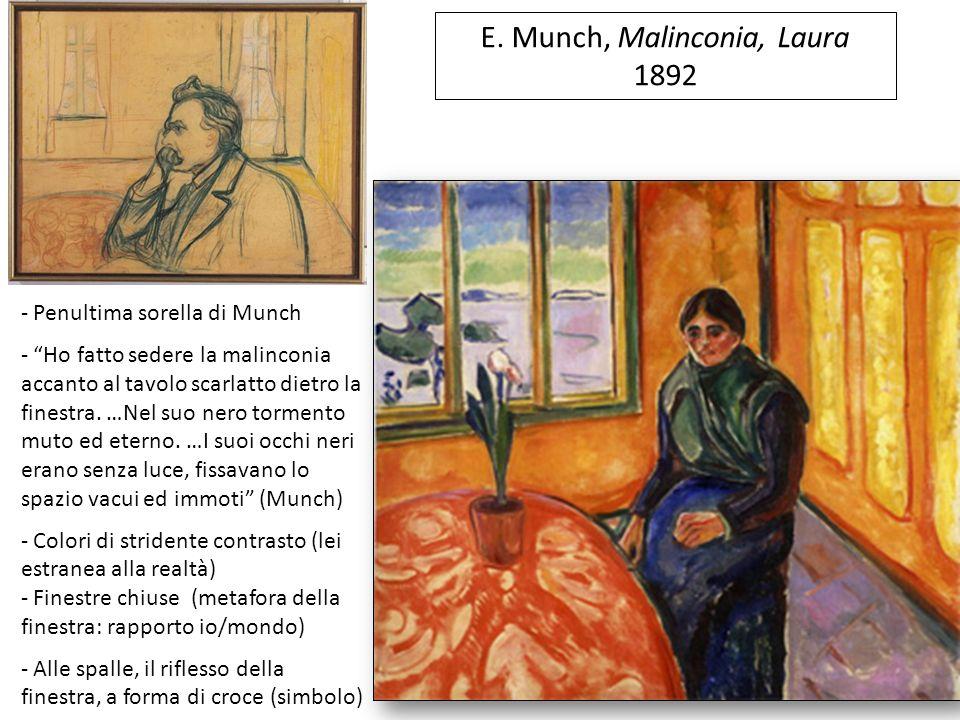 E. Munch, Malinconia, Laura