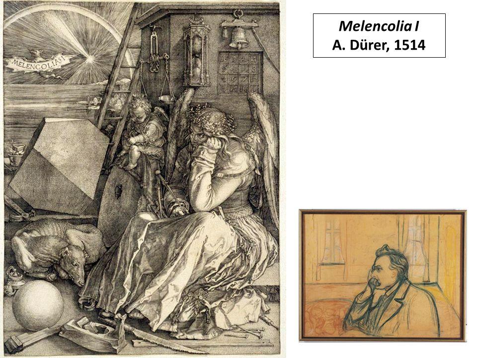 Melencolia I A. Dürer, 1514