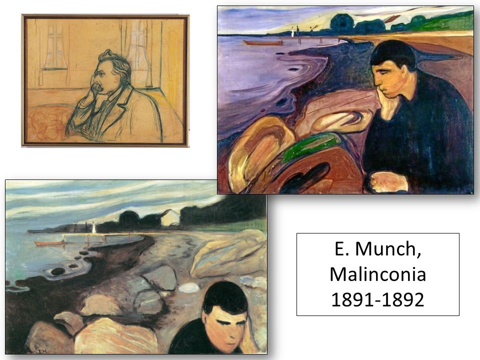 E. Munch, Malinconia 1891-1892