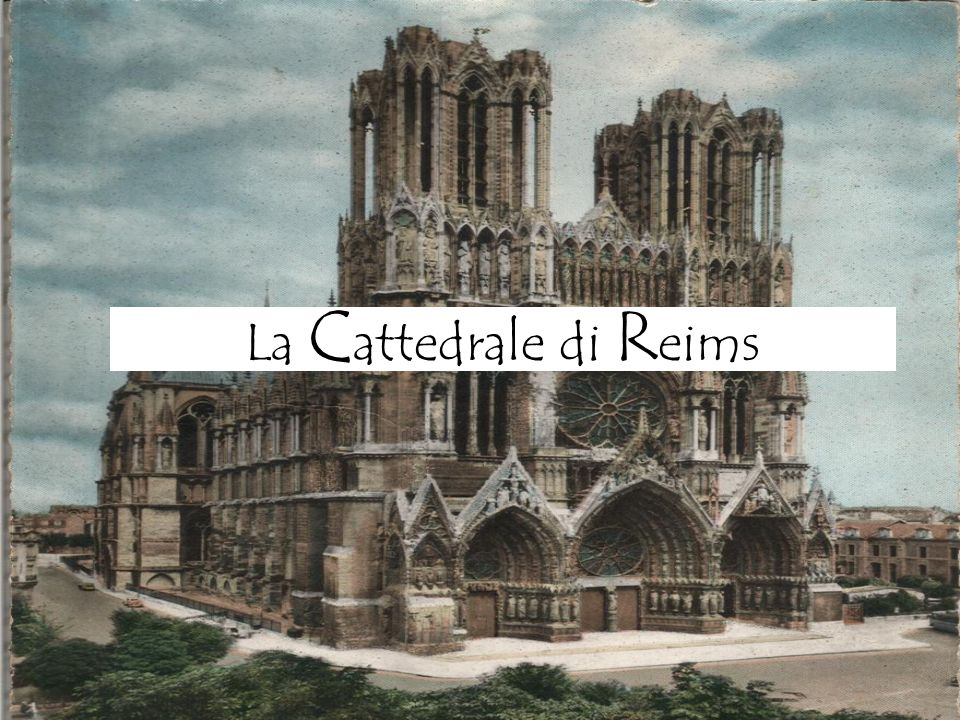 La Cattedrale di Reims
