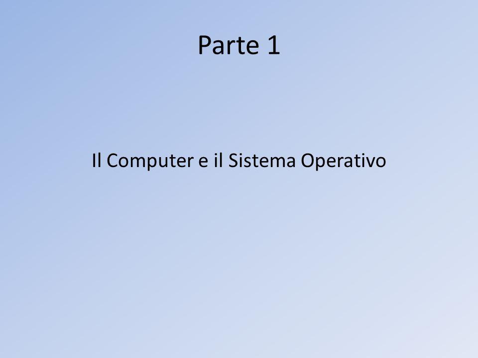 Il Computer e il Sistema Operativo
