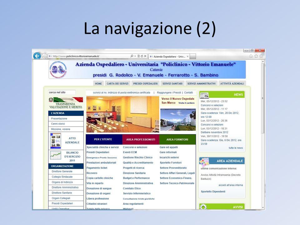 La navigazione (2)