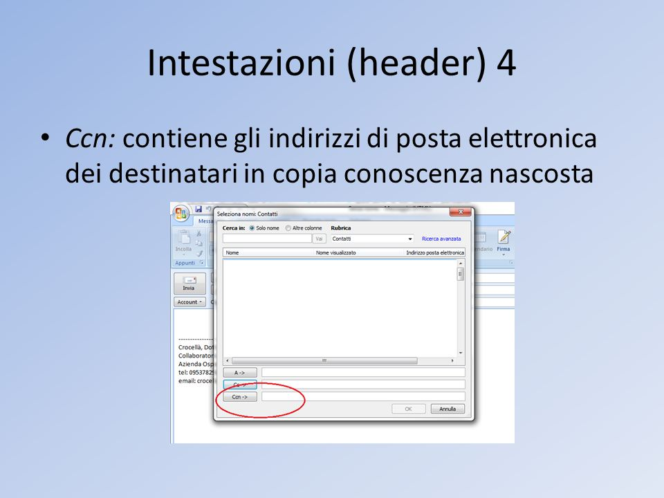 Intestazioni (header) 4
