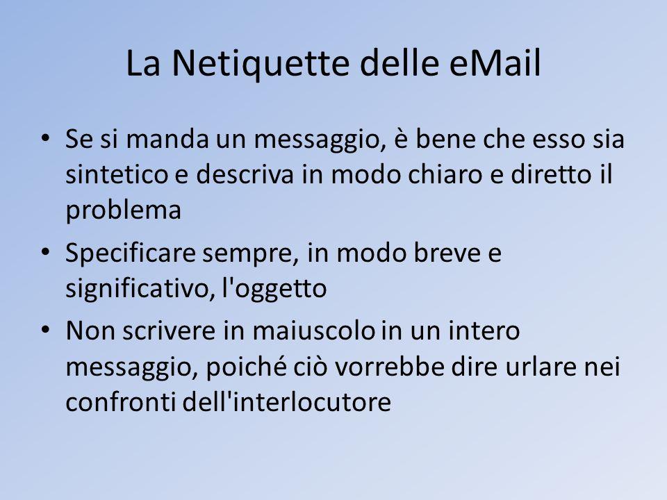 La Netiquette delle eMail