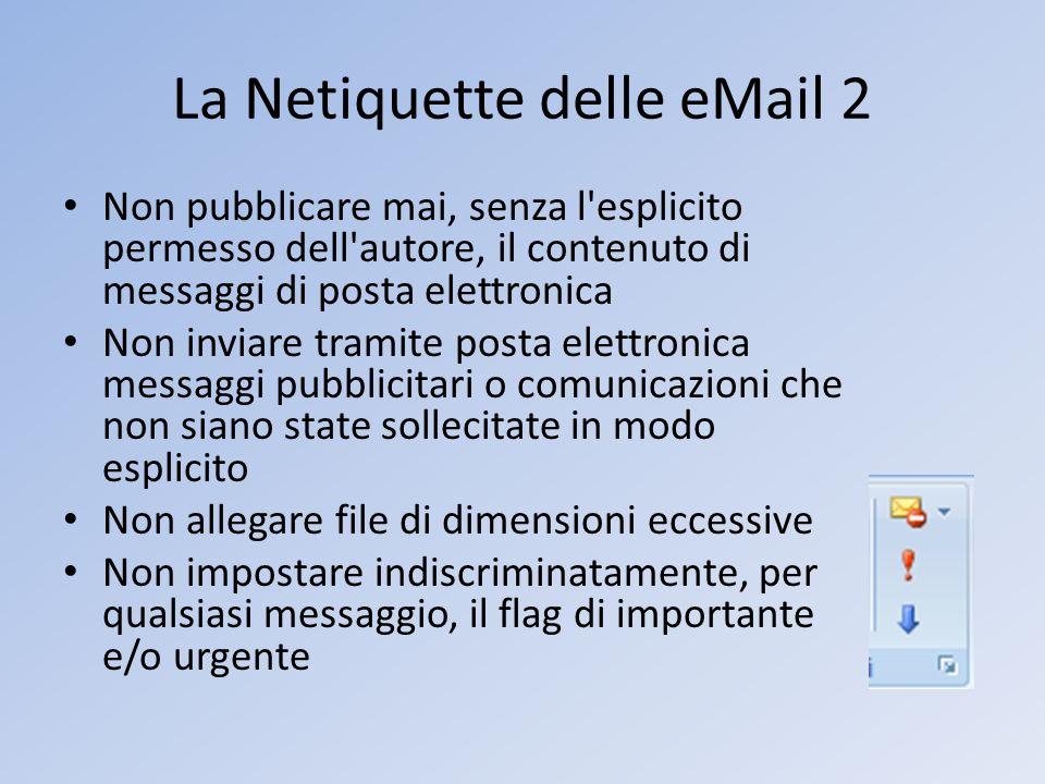 La Netiquette delle eMail 2