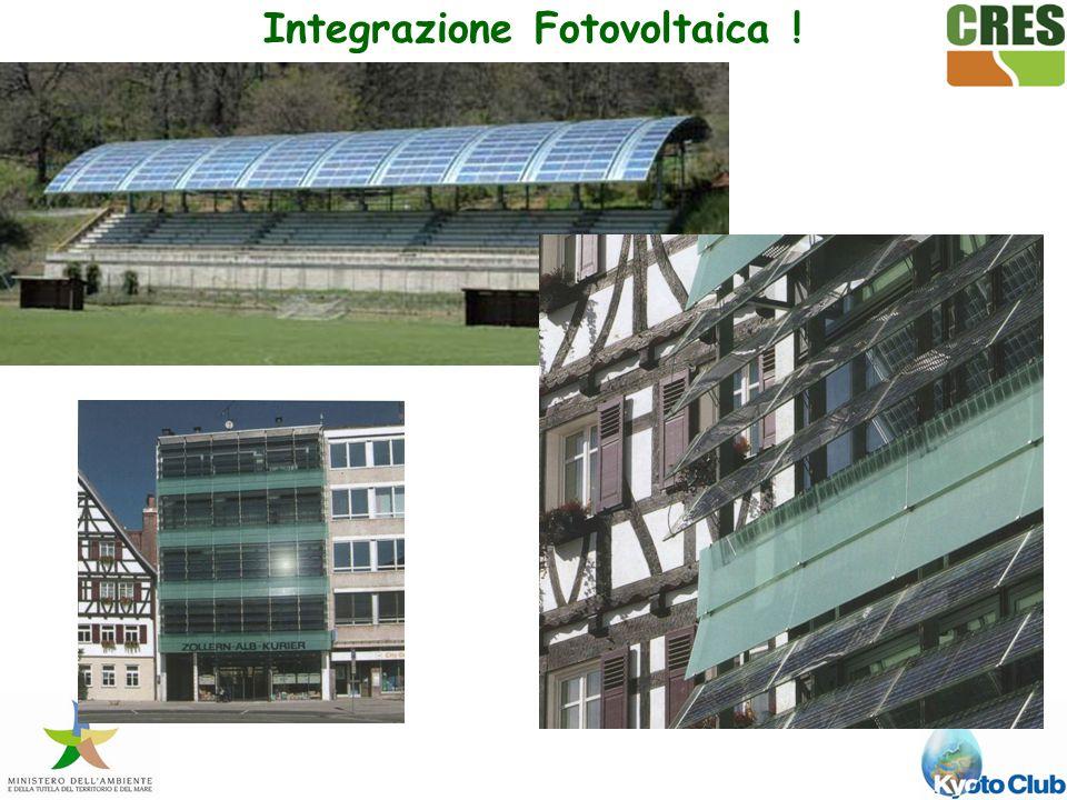 Integrazione Fotovoltaica !