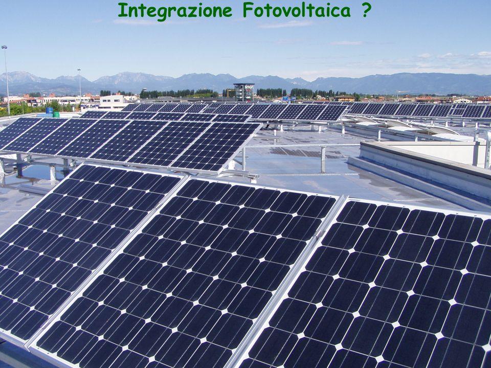 Integrazione Fotovoltaica