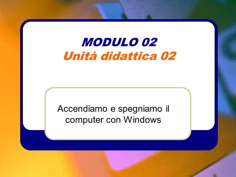MODULO 02 Unità didattica 02