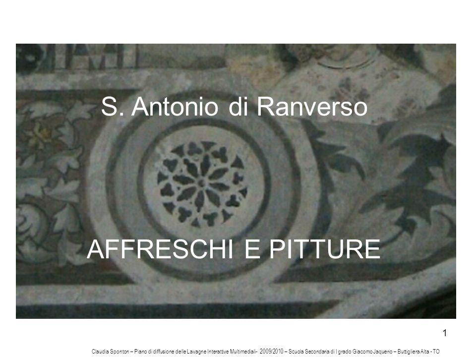 S. Antonio di Ranverso AFFRESCHI E PITTURE
