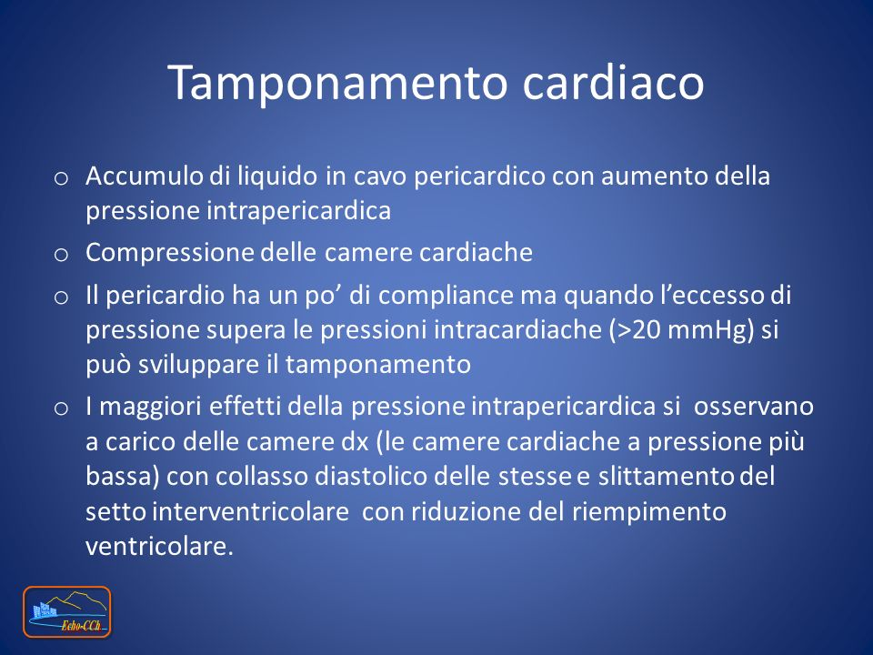Tamponamento cardiaco
