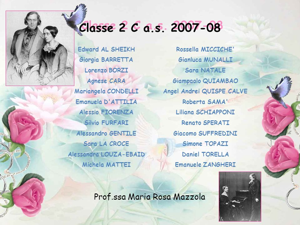 Alessandra LOUZA-EBAID Angel Andrei QUISPE CALVE