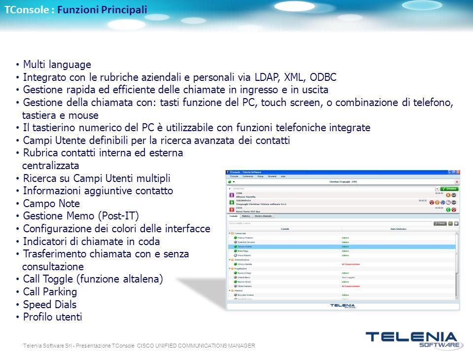 TConsole : Funzioni Principali