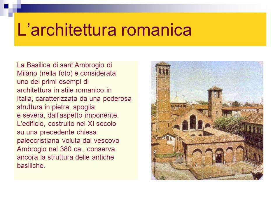 L'architettura romanica