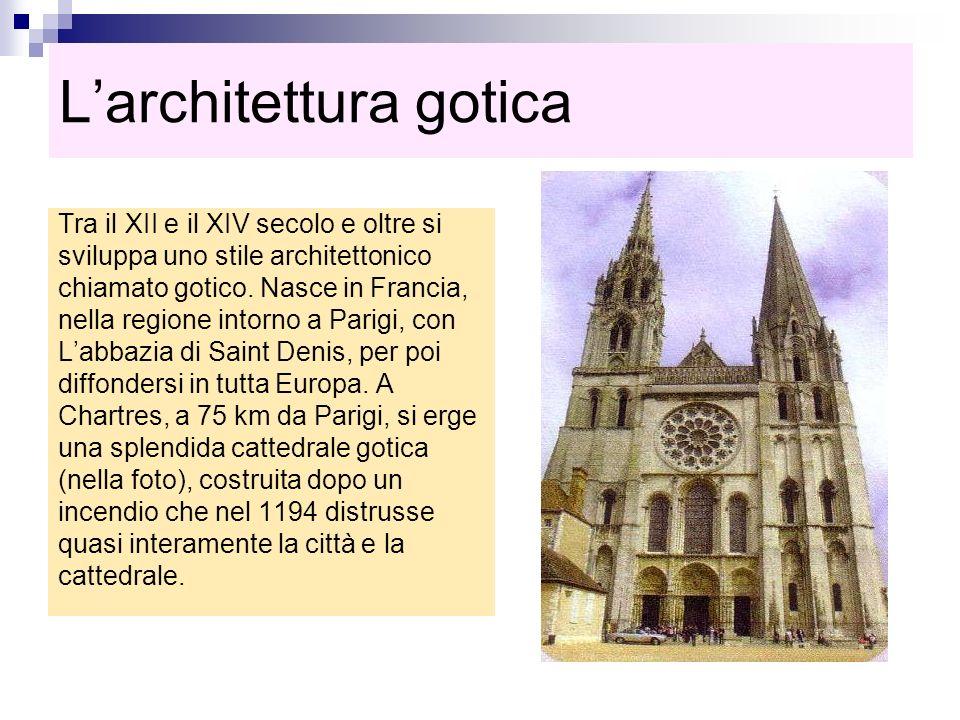 L'architettura gotica