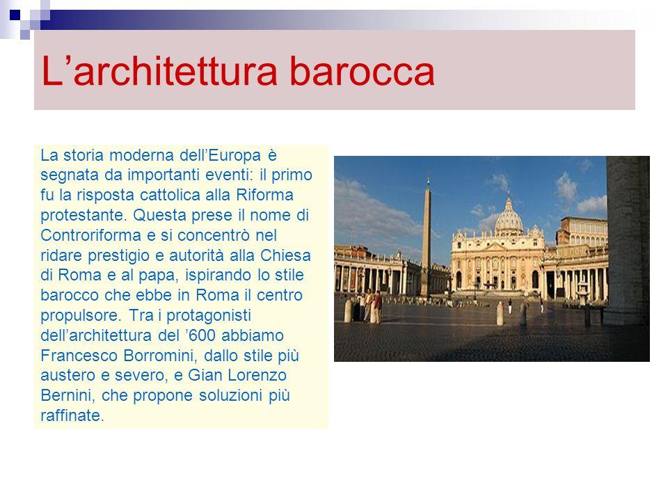 L'architettura barocca