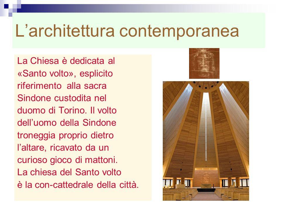L'architettura contemporanea