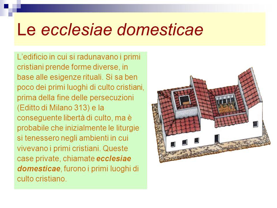 Le ecclesiae domesticae
