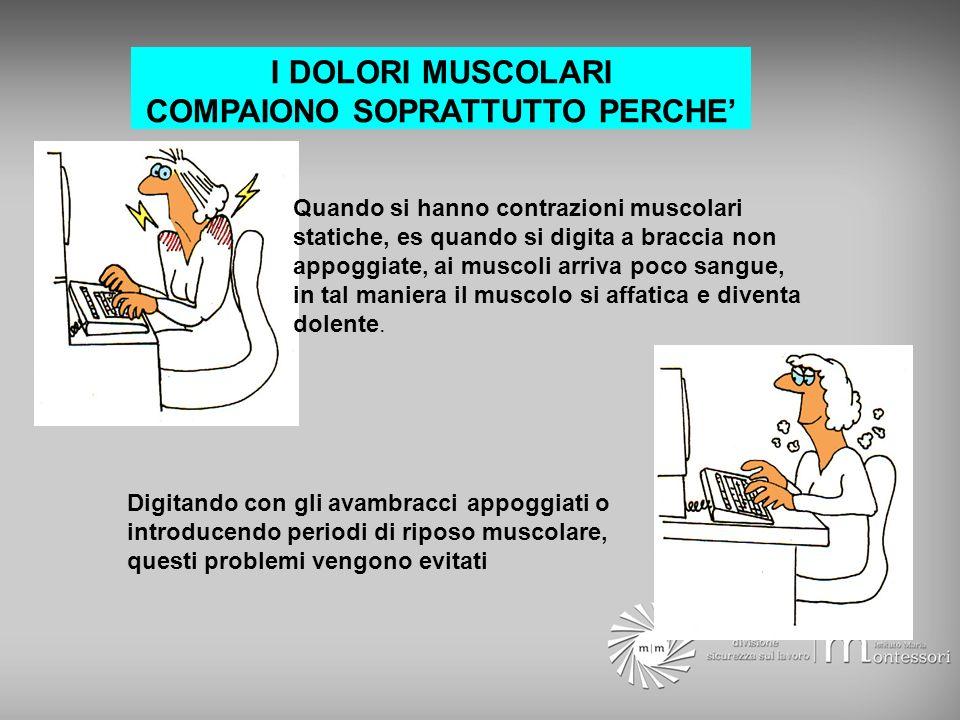 COMPAIONO SOPRATTUTTO PERCHE'