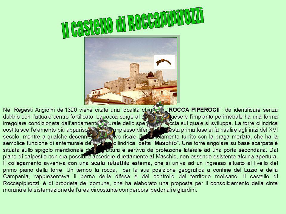 Il castello di Roccapipirozzi